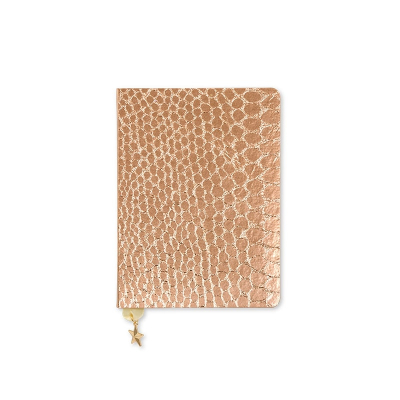 Zápisník A6 Croc - Rose Copper - All That Glitters